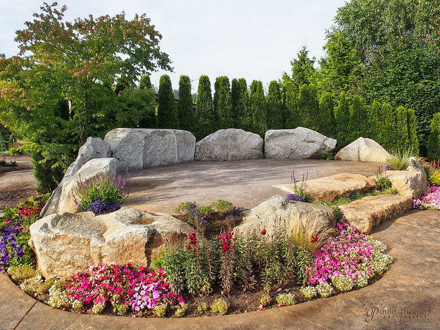 Pine Creek Nursery Outdoor Stage