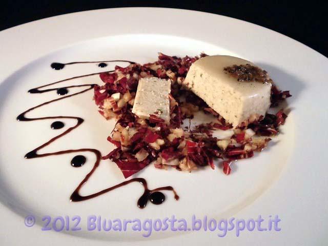 09-panna cotta ai funghi con salsa di tartufo