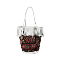 White Hippy Basket