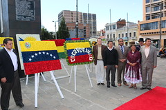 Homenaje por el recordatorio del natalicio del Libertador Simón Bolívar