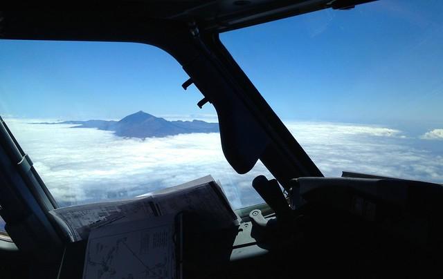 Teneryfa pod chmurą