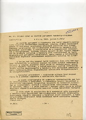 085. Tudósítás az osztrák parlament vitájáról Habsburg Ottó beutazása kapcsán