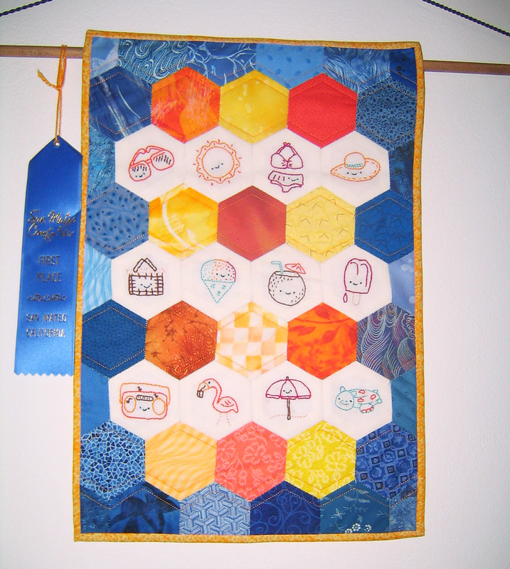 Shelley's Prize-Winning Mini Quilt