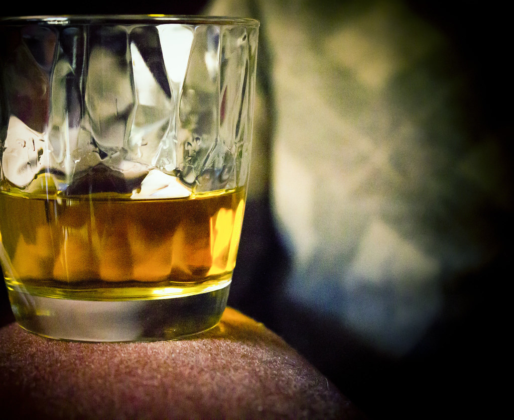 Bicchiere di whisky scozzese