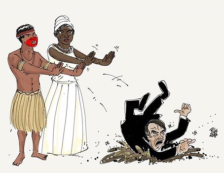 Viva cada quilombo e cada aldeia indígena - Créditos: Ribs