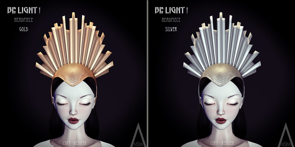 .AiShA. Be Light! Headpiece @Fantasy Faire 2017 - SecondLifeHub.com