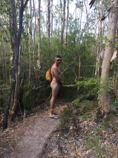naturist 0002 Tyagarah lake, New South Wales, Australia