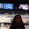 Terrible pic, but she bowled her first strike ever! #12blaxx