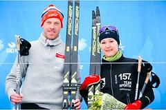 Dnes se jel náročný Aarefjällsloppet