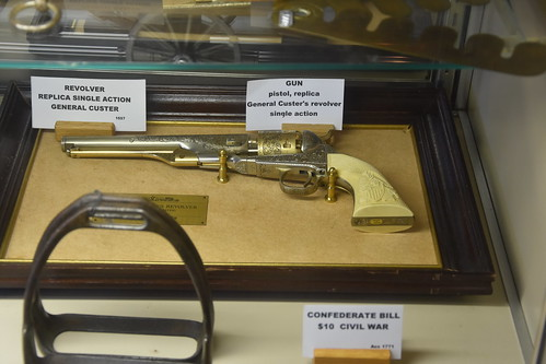 Replica of General Custer's single action  revolver