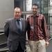 Achim Barchmann und Zsolt Szabo, IPS-Stipendiat aus Ungarn
