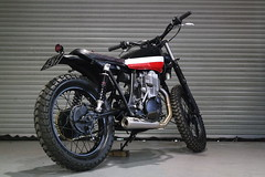 Yamaha sr500 Scramnler by Kevils Speed Shop Cafe Racers