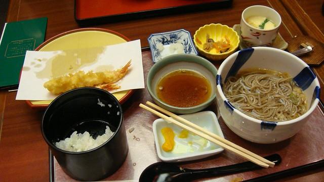 Setto meal (aka set-meal), Terminal 2, Narita Airport, Tokyo