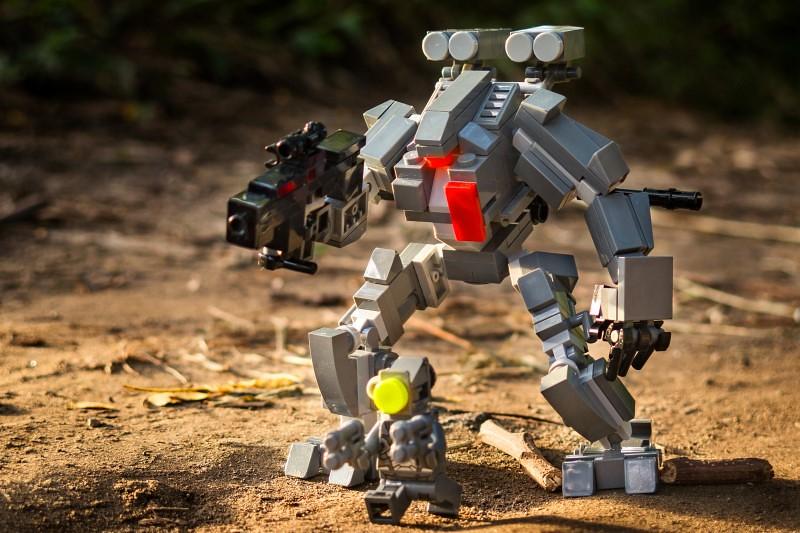 Work together (custom built Lego model)