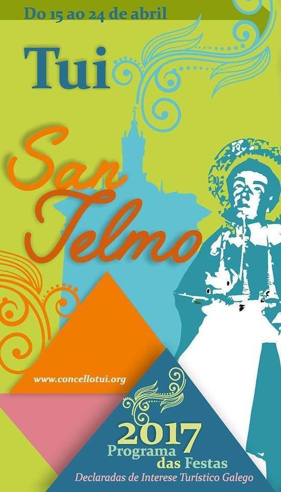 Tui 2017 - Festas patronais de San Telmo - cartel