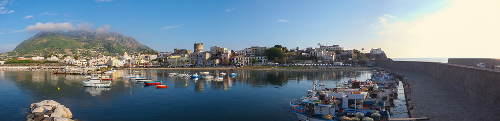Panorama of Forio, Ischia