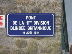 Pont De La 11th Division Blindee Brtitannique