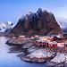 Red | Hamnøy, Lofoten, Norway by v on life
