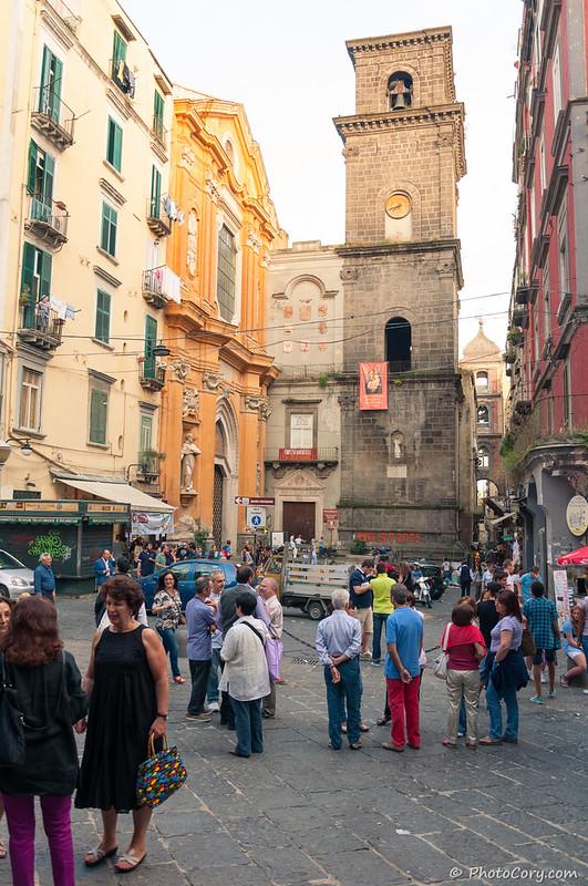Napoli, centro historico