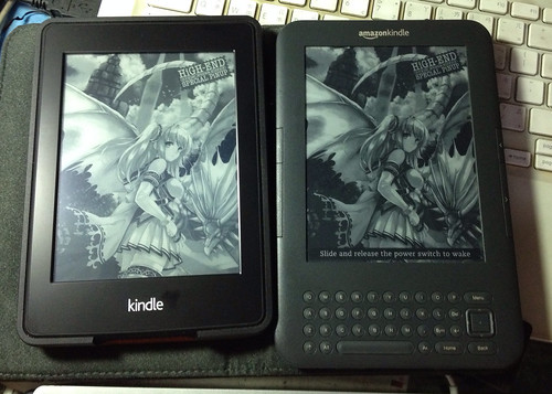 Kindle PW2 與 Kindle 3