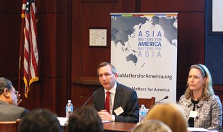 The Honorable Scot Marcial from the State Department and Meredith Miller from NBR were among the expert panelists at the launch event.
