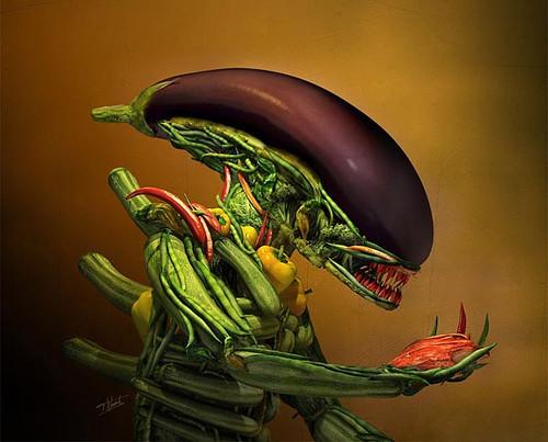 Veggie-Alien