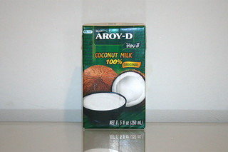 06 - Zutat Kokosnussmilch / Ingredient coconut milk