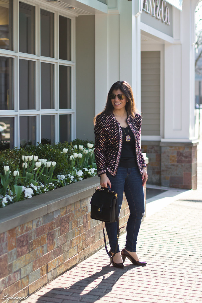 sequined jacket, skinny jeans-2.jpg