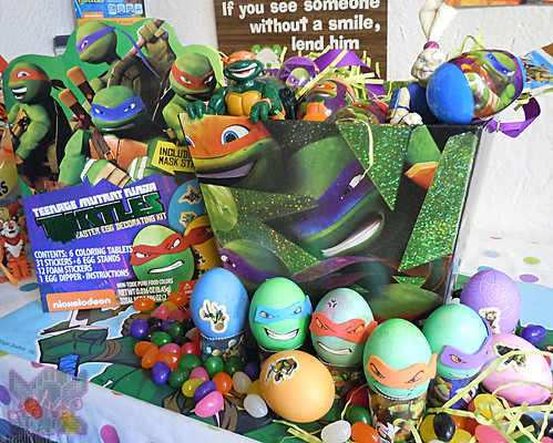 "Dudley's Easter :: Nickelodeon ""TEENAGE MUTANT NINJA TURTLES"" EASTER EGG DECORATING KIT i (( 2014 ))"