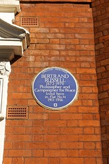 Blue Plaque to commemorate Bertrand Russell