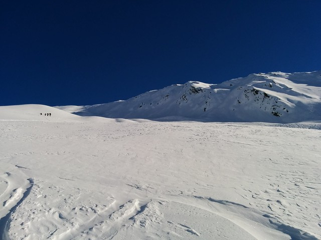 Aufstieg Kreuzspitze Villgraten es wird steiler