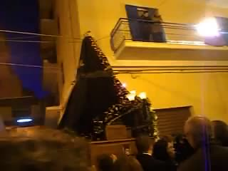 Vocal Music Mournings. Good Friday in Porto Empedocle, Sicily