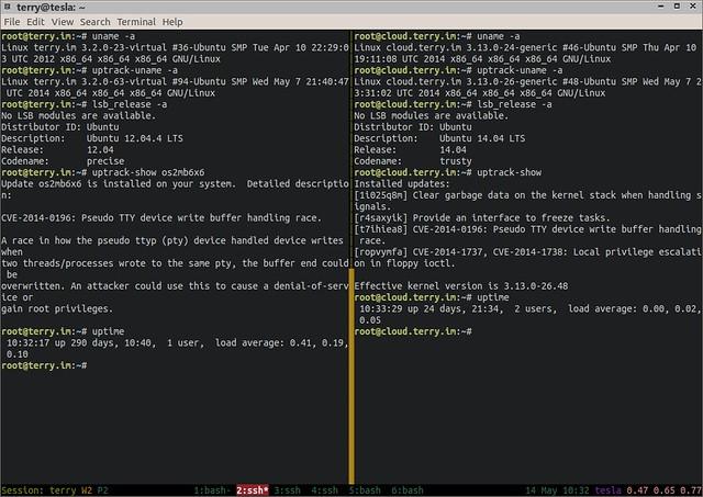 ksplice for Ubuntu Server
