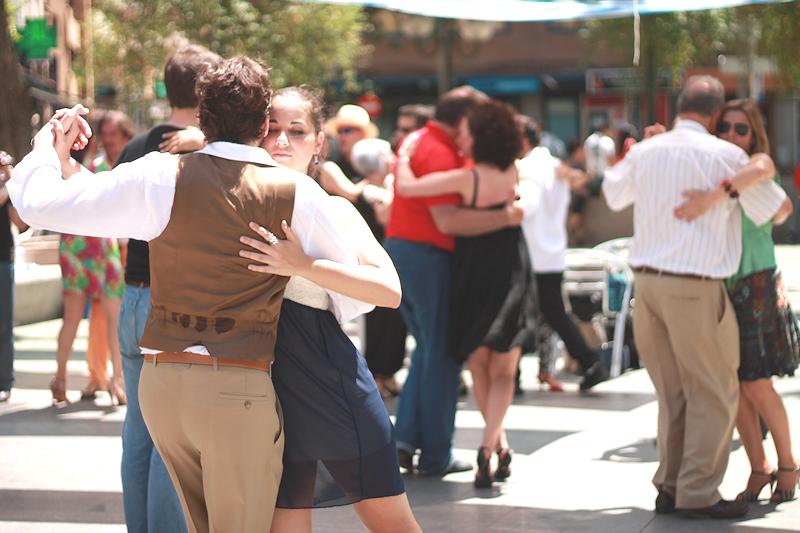 Dancing tango, Ciudad Real