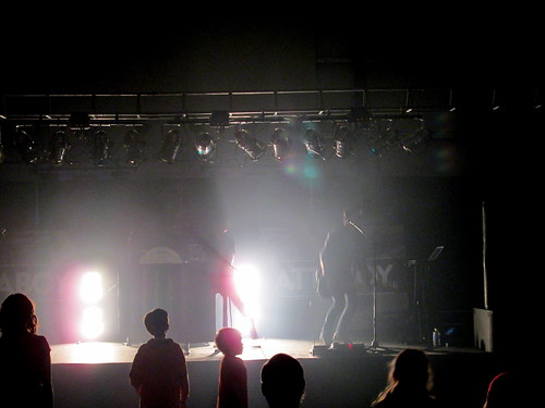 Lighting Effect During The Attaboy Concert.
