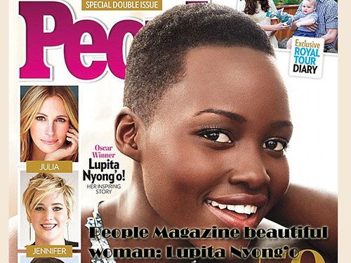 People Magazine's Most Beautiful women in 2014: Lupita Nyong'o