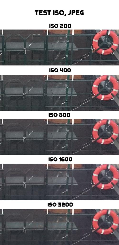 Sony Xperia Z2 - test ISO