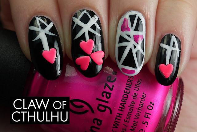 Born Pretty Store Pink Coloured Metallic Stud Nail Art