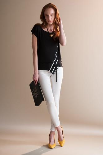 Swift Blouse - black spring shirt