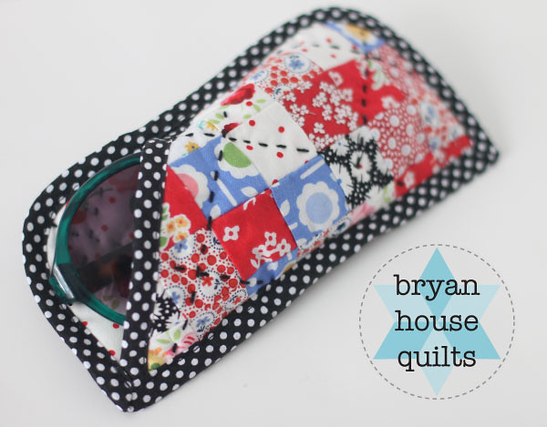 Glasses Case Tutorial- from the Patchwork Summer Series at Ellison Lane