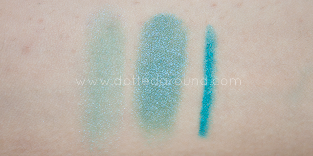 neve cosmetics quetzal cielo swatches