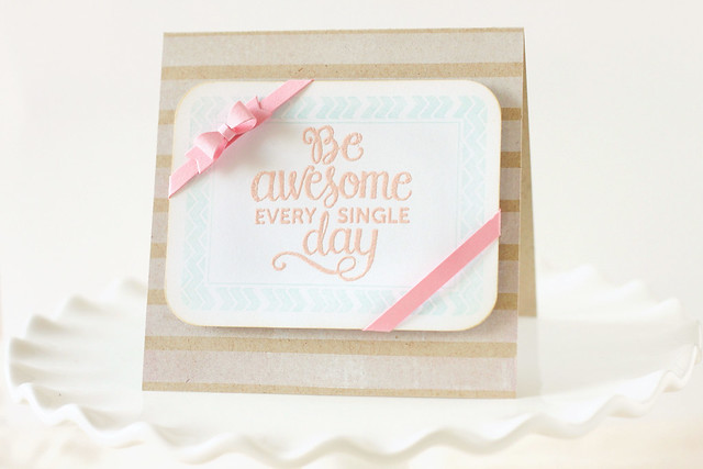 be awesome! {mama elephant stamp highlight}