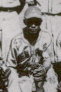 Johnson with Memphis, 1946.