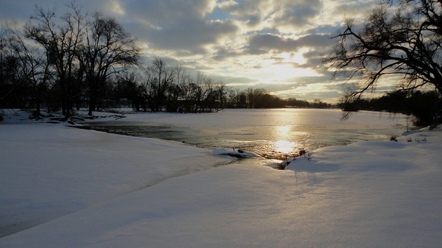 Snowy River Sunset