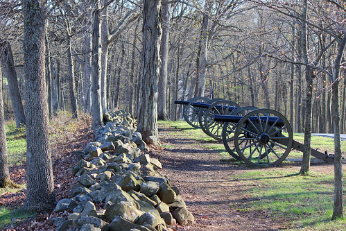 Down the Wall on Seminary Ridge, Gettysburg