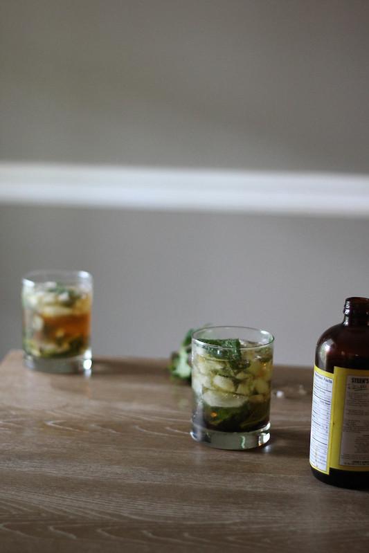 Cane Syrup Mint Julep
