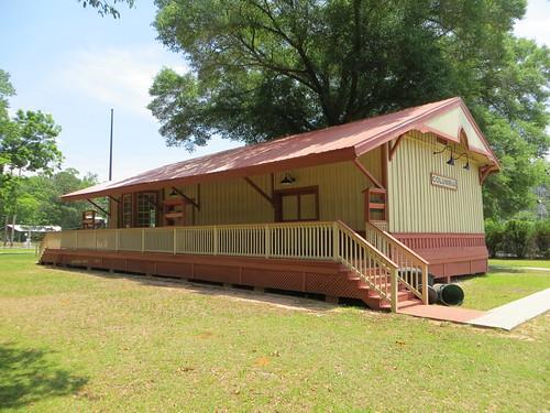 Central of Georgia Train Depot 2 Columbia AL