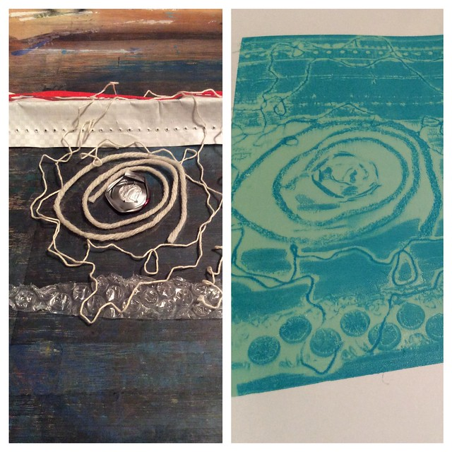 experimental screenprinting