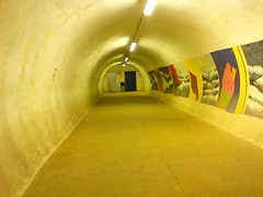 Tunnel to cliff lift, Whitby