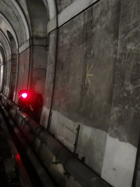29 - Red Signal in Thames Tunnel